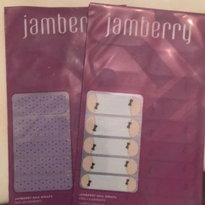 Two packages of Jamberry nails